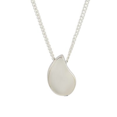 Far Fetched Pure Necklace on Sterling Silver Chain 18 inch