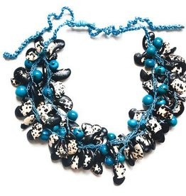 Angela Sanchez Turquoise Cali Kidney Bean Necklace