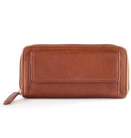 Osgoode Marley Osgoode Marley 1251BR Zip Around Wallet Brandy