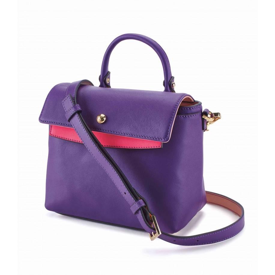 Femme De Cupcakes Femme De Cupcakes Midtown Satchel Purple