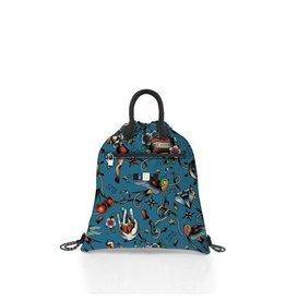 Save My Bag Save My Bag Cloud Tattoo Blu Ceruleo