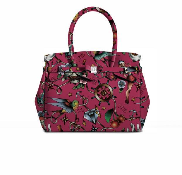 Save My Bag Save My Bag Miss Lycra Tattoo Porpora