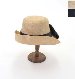 Onigo Madagascar Black and Beige Hat