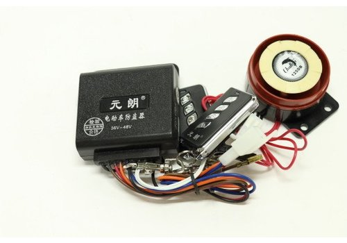 36v-48v Alarm for scooters W/Remote