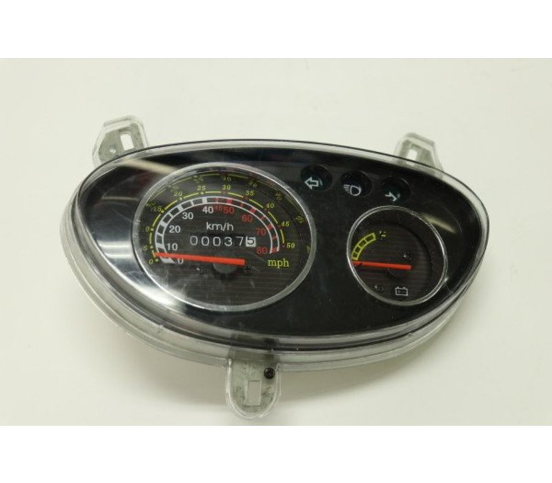 Analogue Speedometer Display Wind