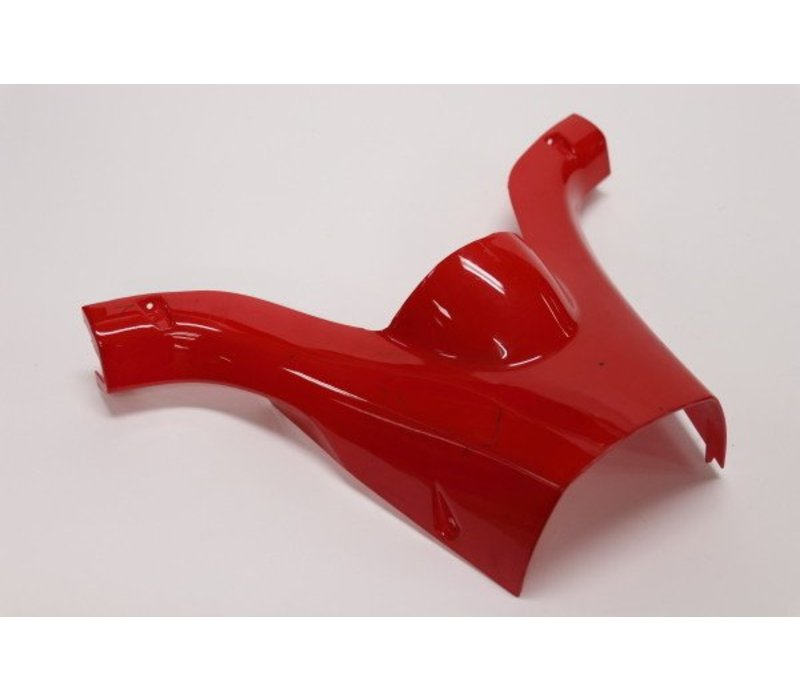 Steering Column Housing Back Panel PVC Red (eBreeze)