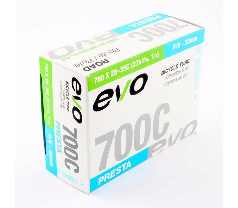 EVO, Inner tube, Presta, 60mm, 700x28-35C