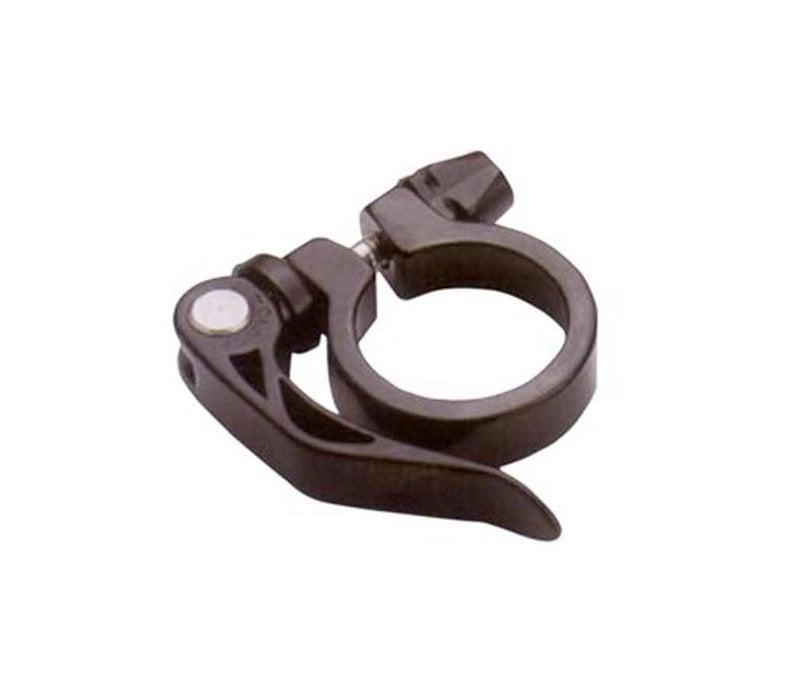 Seatpost clamp w/ QR, 39 mm, Black