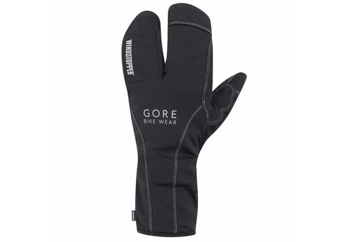Gore Bike Wear, Road WS Thermo Split Gloves L, (GROADE9900), Black