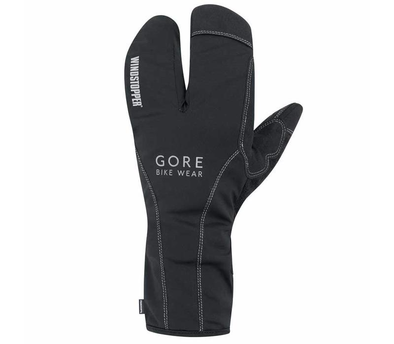 Gore Bike Wear, Road WS Thermo Split Gloves L, (GROADE9900), Black