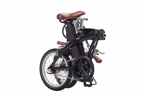 Blix Bicycle Blix, Vika Travel 16inch Folding Bike, Black