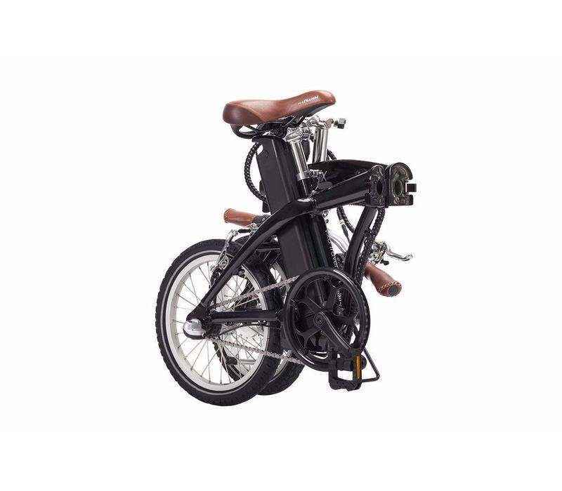 Blix, Vika Travel 16inch Folding Bike, Black