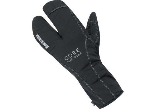 Gore Bike Wear, Road WS Thermo Split Gloves XXXL, (GROADE9900), Black