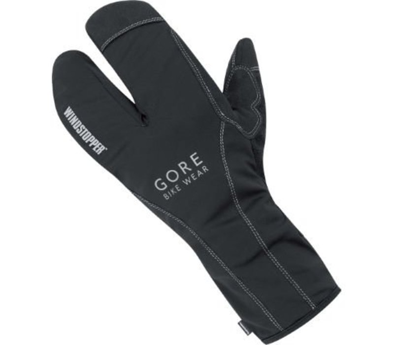 Gore Bike Wear, Road WS Thermo Split Gloves XXXL, (GROADE9900), Black