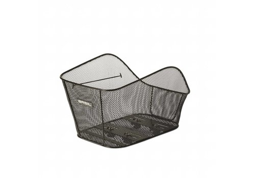 Basil Basil Icon Basket, Large, Black