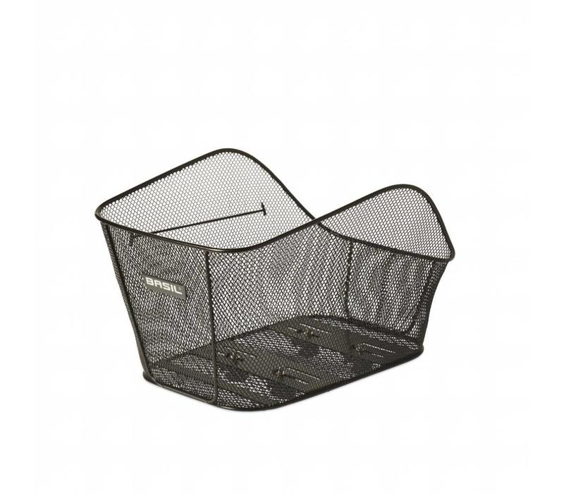 Basil Icon Basket, Large, Black