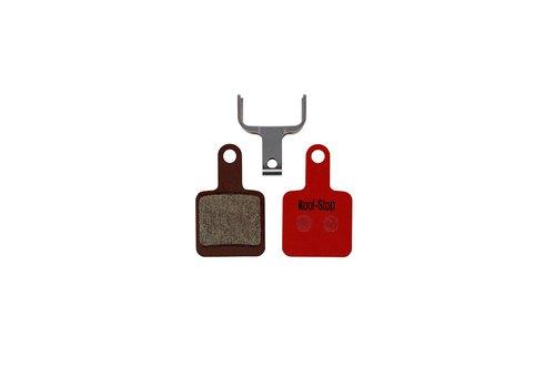 Kool-Stop SR Suntour Mechanical Disc Brake Pads Steel Plate (Tektro Auriga)