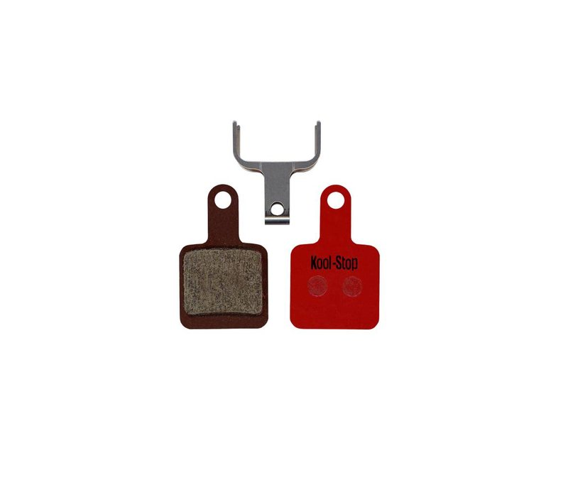 Kool-Stop SR Suntour Mechanical Disc Brake Pads Steel Plate (Tektro Auriga)