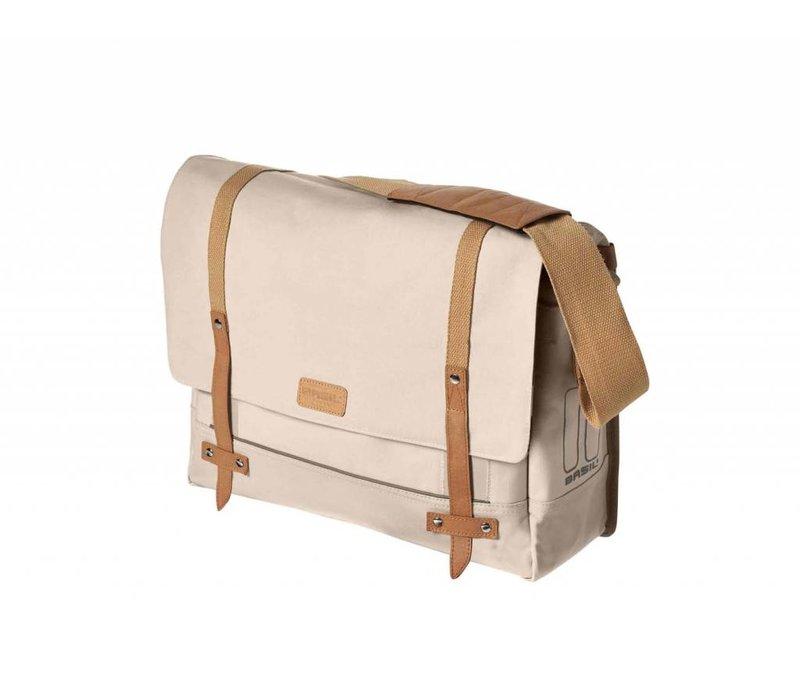 Basil Portland Messenger Bag, Cream