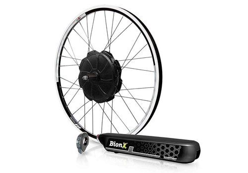BionX BionX KIT SL350HT RR XL Electronic Assist System, 26'', Black Rim, Black Spokes