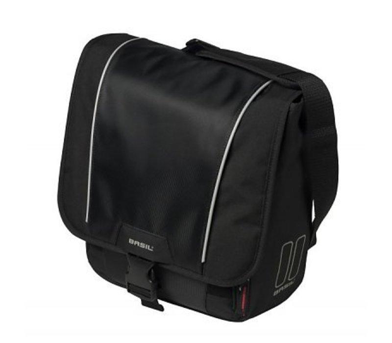 Basil, Sport, Commuter bag, Black