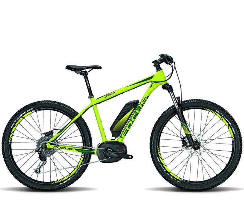 Focus Jarifa Bosch Plus Green 54XL 2017