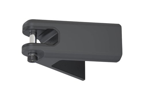 HIPLOK Hiplok Airlok Secured Wall Mount Frame Lock: Gray