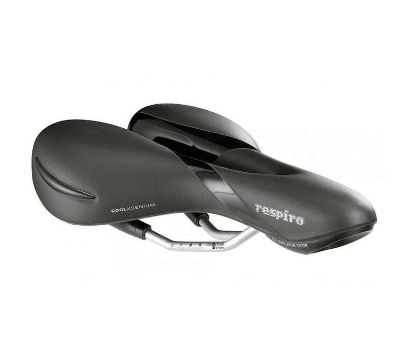 Selle Royal, Respiro Moderate, Saddle, 263 x 199mm, Women, 475g, Black