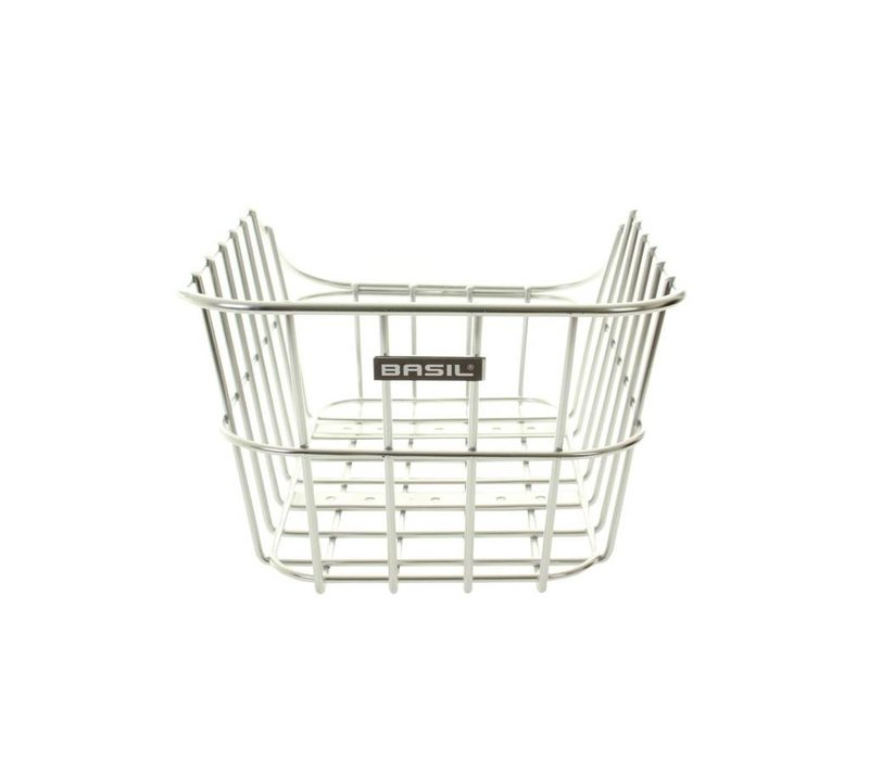 Basil, Cento Alu, Rear basket, Aluminium