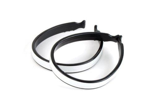EVO Plastic Pant Clip with Reflective Stripe