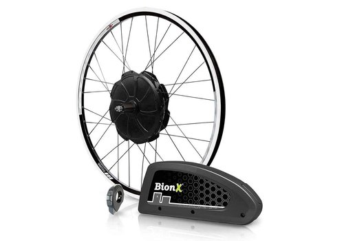 BionX BionX Kit, P350 DX, Electronic Assist System, Black Rim & Spokes