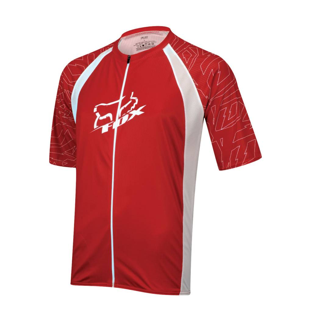 FOX HEAD FOX JERSEY LIVE WIRE RED M