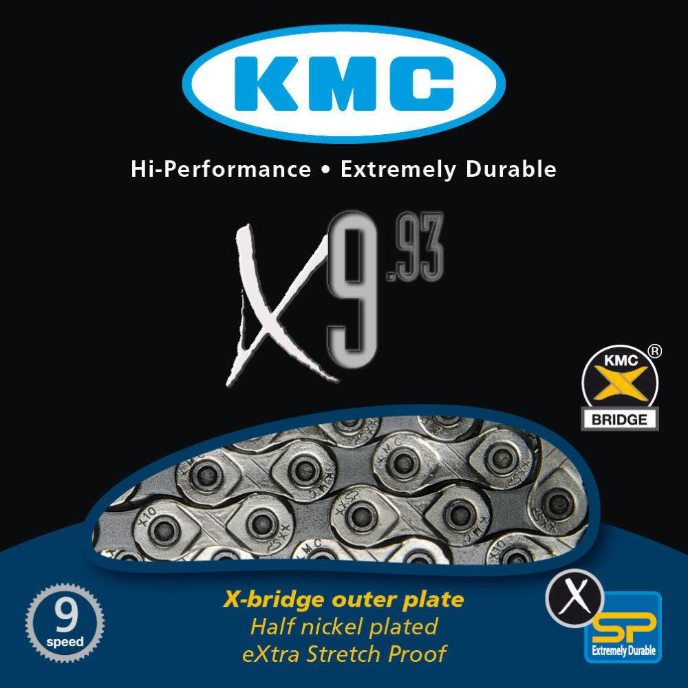 KMC KMC CHAIN 9SPD X9.93
