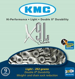 KMC KMC CHAIN 9SPD X9L SILVER