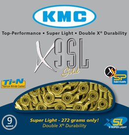 KMC KMC CHAIN 9SPD X9SL GOLD