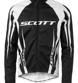 SCOTT SCOTT JACKET WINDBREAKER BLK/WHT M