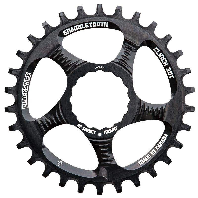 BLACKSPIRE BLACKSPIRE CHAINRING SNAGGLETOOTH 1X NW RF CINCH