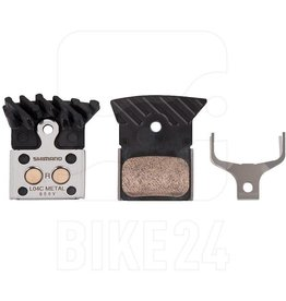 SHIMANO SHIMANO DISC BRAKE PADS L04C ROAD METAL FIN