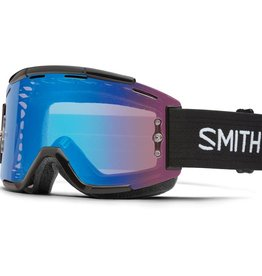 SMITH SMITH GOGGLE SQUAD Black Chromapop Contrast Rose Flash