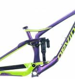 DEVINCI 2018 DEVINCI FRAME SPARTAN CARBON M Purple/Green