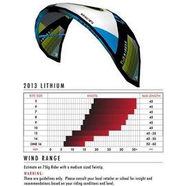 AIRUSH 2013 AIRUSH LITHIUM 9M (kite only)
