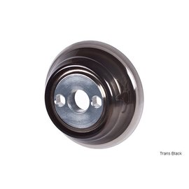 1664 Animal Aluminum Rear Hub Guard w/Plastic Sleeve - Trans Black