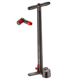 Lezyne Lezyne, Steel Floor Drive, Floor pump, ABS-2 chuck, Black