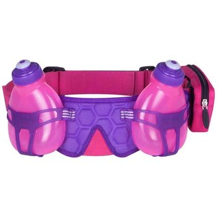 FuelBelt, Helium H2O, 2 Bottle belt, Maui Pink/Grape
