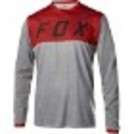 FOX CANADA INDICATOR LS JERSEY [HTR RD] M
