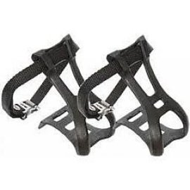 49N 49N TOE CLIPS & STRAPS - LARGE