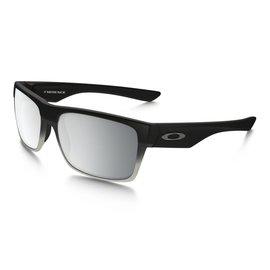 OAKLEY Two Face Machinist MatteBlk w/ChromeIrd