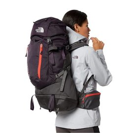 THE NORTH FACE W's M/LTerra 40 Galaxy Purple/Fire Brick Red