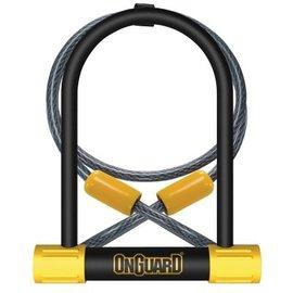 OnGuard, Bulldog DT 8012, U-Lock, 13 mm x 115mm x 230mm / 10mm x 120cm (13mm x 4.5'' x 9'' / 10mm x 4')
