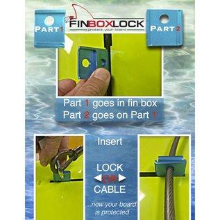 OCEAN LINEAGE Fin box Lock